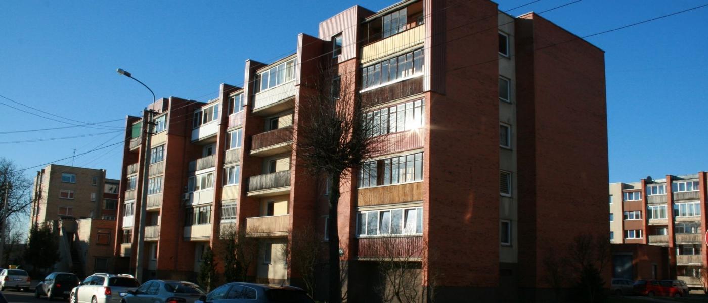 2 kambarių butas centre